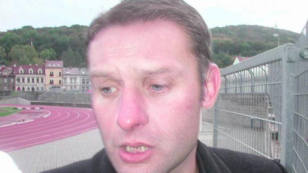 Trenér fotbalistů Ústí nad Labem Svatopluk Habanec