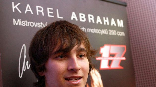 Motocyklista Karel Abraham