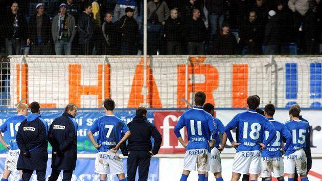 Fotbalisté Baníku se bodů znovu nedočkali.