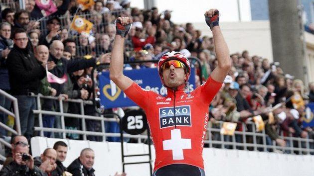 Fabian Cancellara jásá.