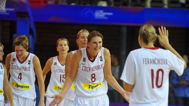 Radost českých basketbalistek