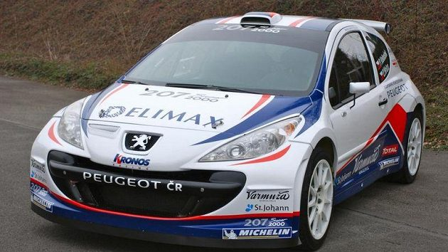 Peugeot 207 S2000 Pavla Valouška