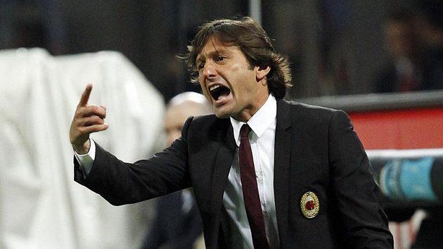 Milánský kouč Leonardo opouští po třetím místě v lize lavičku AC.