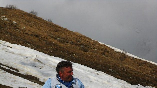 Stanislav Šubrt po absolvování slalomu při BMW X3 Games
