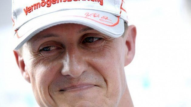 Legenda formule 1 Michael Schumacher.