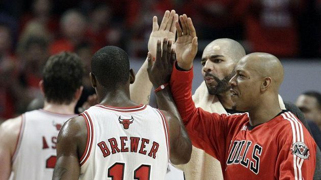 Spokojení basketbalisté Chicaga