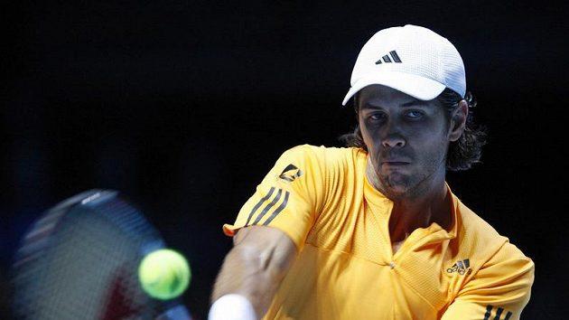 Španělský tenista Fernando Verdasco na Turnaji mistrů v Londýně