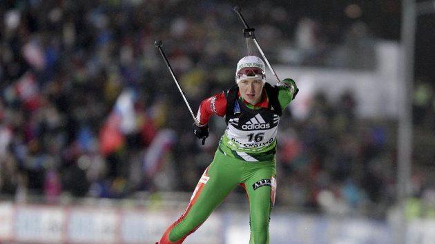 Běloruská biatlonistka Darya Domračevová