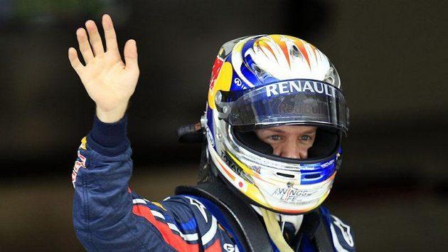 Pilot stáje Red Bull Sebastian Vettel