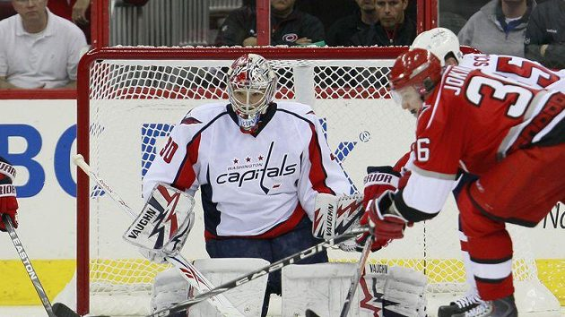 Michal Neuvirth, brankář Washington Capitals