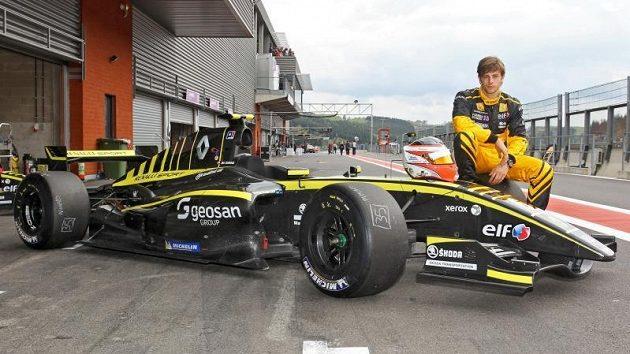 Jan Charouz se zkouší probít do F1 přes Světovou sérii Renault.
