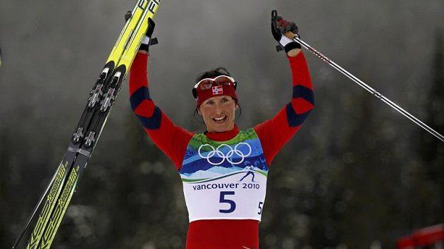 Norská lyžařka Marit Björgenová