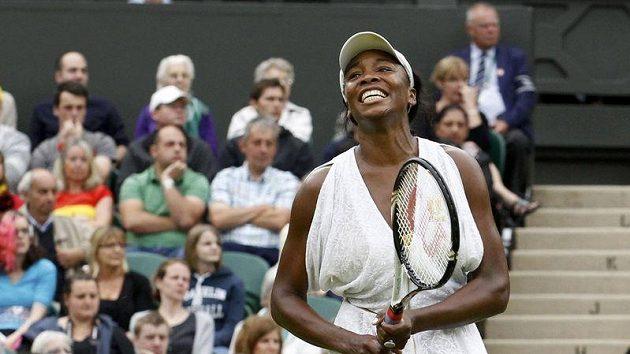 Radost Američanky Venus Williamsové