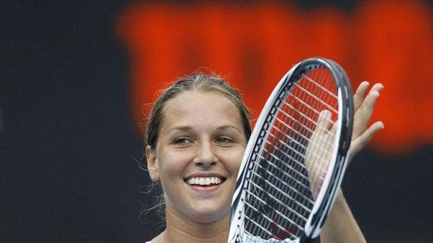 Slovenská tenistka Dominika Cibulková věří, že Srbky nebudou v takové formě jako české hráčky.