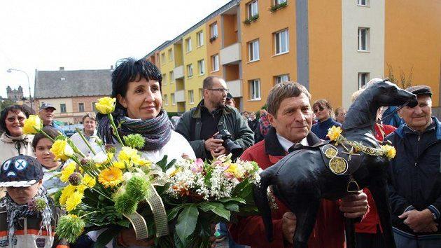 Josef Váňa s manželkou