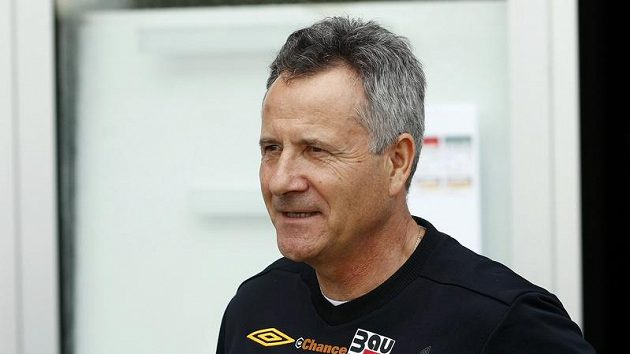 Trenér fotbalistů Jablonce František Komňacký