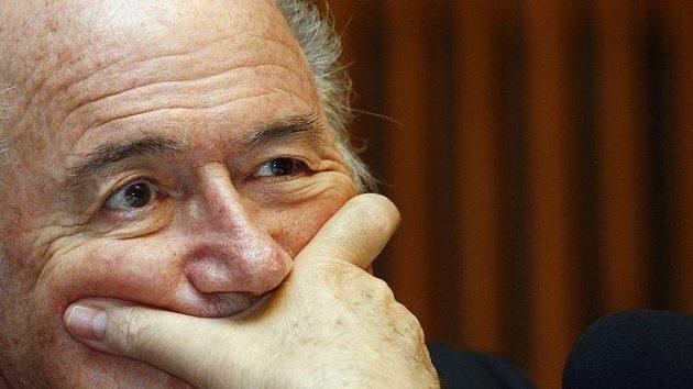 Předseda FIFA Sepp Blatter