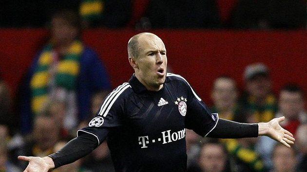 Arjen Robben z Bayernu Mnichov