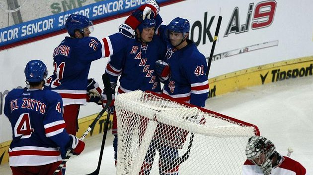 Hokejisté New York Rangers.