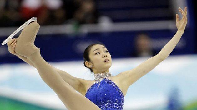 Korejská krasobruslařka Kim Ju-na