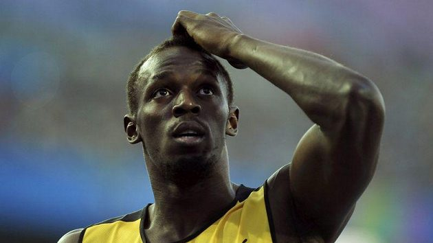 Sprinter Usain Bolt na mistrovství světa zlato neobhájil. Ulil start a byl vyloučen.
