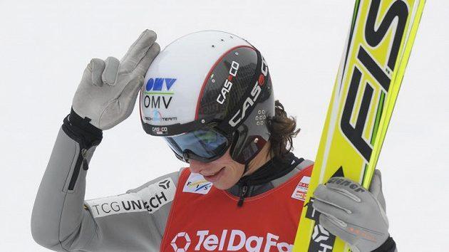 Český skokan na lyžích Jan Hájek