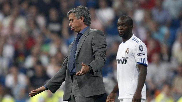 Kouč Realu Madrid Jose Mourinho nemohl být s výkonem svých svěřenců v poháru spokojený.