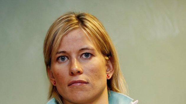 Česká basketbalistka Ivana Večeřová