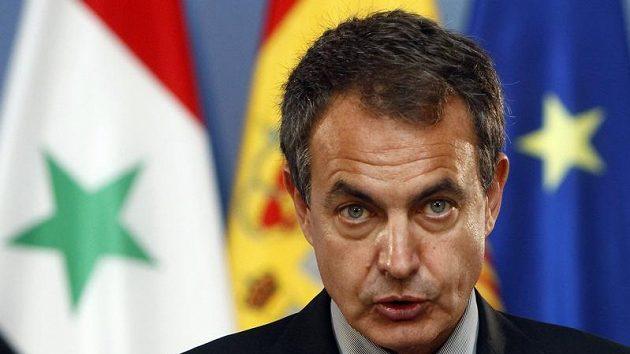 Španělský premiér Jose Luis Rodriguez Zapatero.