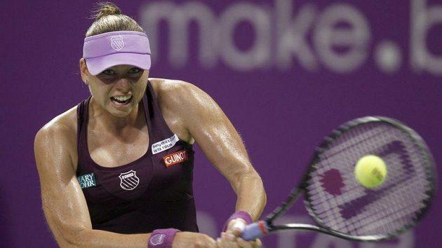 Ruska Věra Zvonarevová porazila na úvod Turnaje mistryň v Dauhá hladce Jelenu Jankovičovou ze Srbska.