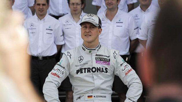 Německý pilot stáje Mercedes Michael Schumacher