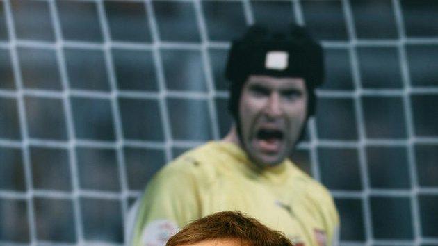 Fotbalový brankář Petr Čech