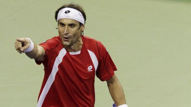 Španělský tenista David Ferrer přehrál Roddicka ve třech setech