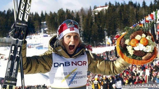 Norská lyžařka Therese Johaugová teď příliš radosti neprožívá.