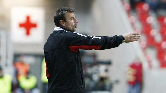 Trenér Slavie Michal Petrouš