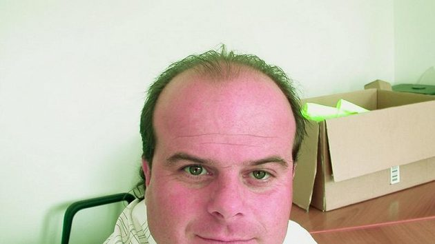 Fotbalový trenér Roman Nádvorník