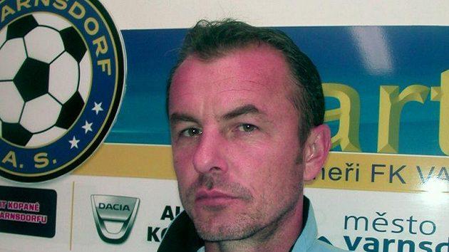 Trenér fotbalistů Varnsdorfu Zdenko Frťala.
