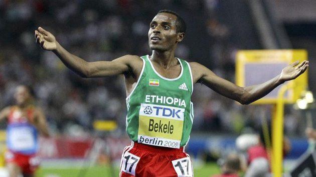 Etiopský vytrvalec Kenenisa Bekele.