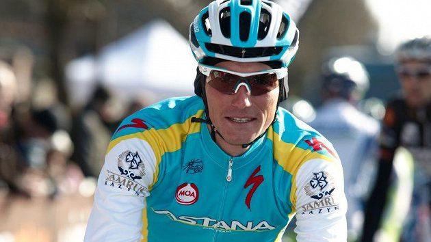 Český cyklista Roman Kreuziger v dresu Astany.