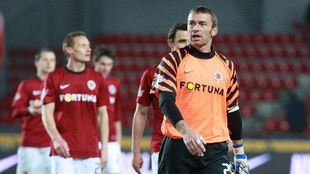 Brankář Jaromír Blažek ve Spartě skončil. V kariéře by ale rád pokračoval.