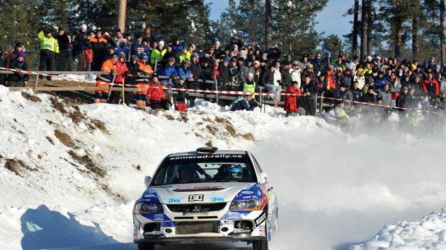 Švédská rallye (ilustrační foto)