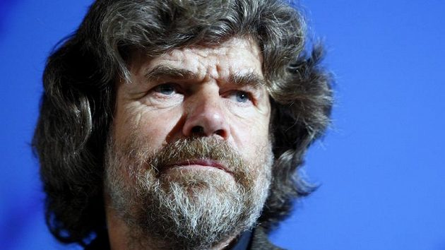 Horolezec Reinhold Messner
