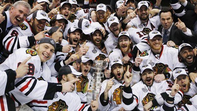 Čerství vítězové Stanley Cupu - Chicago Blackhawks