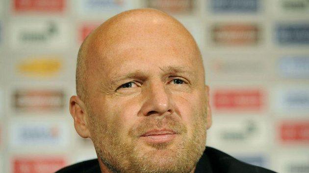Michal Bílek na tiskové konferenci po zápase s Norskem