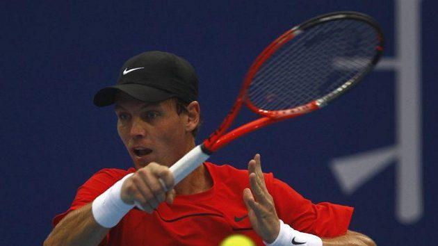Tomáš Berdych v Šanghaji dohrál.