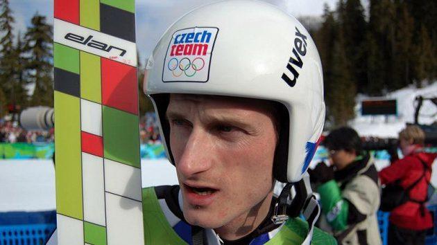 Český skokan na lyžích Jakub Janda.