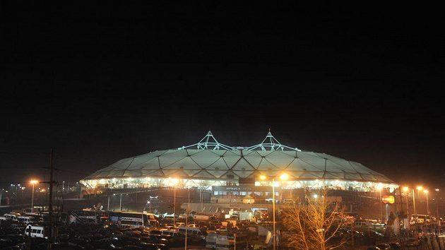 Argentinský fotbalový stadión Estadio Unico, kde se odehrál úvodní zápas Copa America.