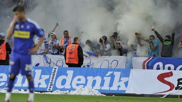 Další osud fotbalové Olomouce halí mlha, na ligové mapě však Hanáci zůstali.
