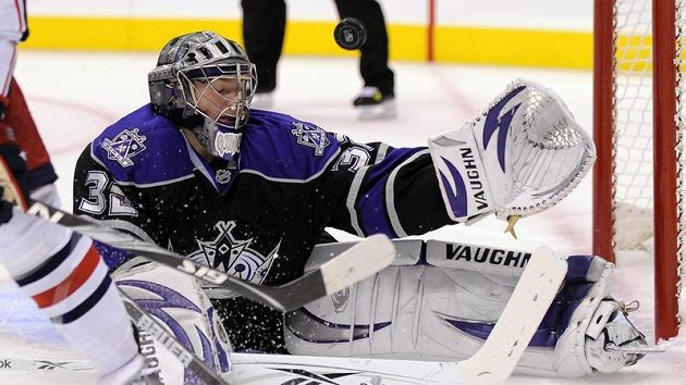 Brankář Los Angeles Kings Jonathan Quick