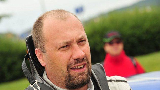 Vojtěch Štajf při Rallye Bohemia